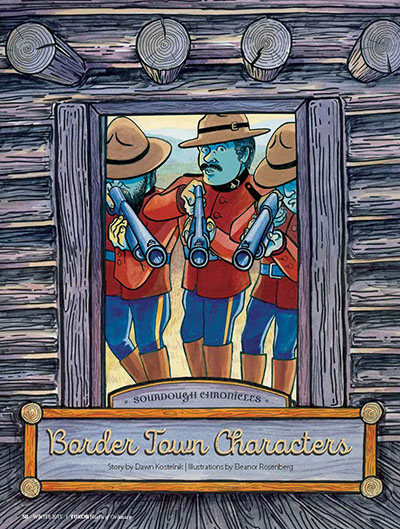 border town characters cover