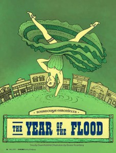 year of the flood cover